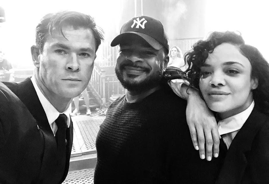"""Chris Hemsworth anuncia término das filmagens do novo """"MIB: Homens de Preto"""""""