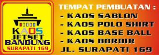 Pusat Jasa Pembuatan Kaos Sablon Bandung Harga Termurah Berkualitas