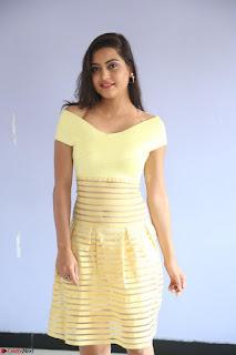 Shipra gaur in V Neck short Yellow Dress ~  073.JPG