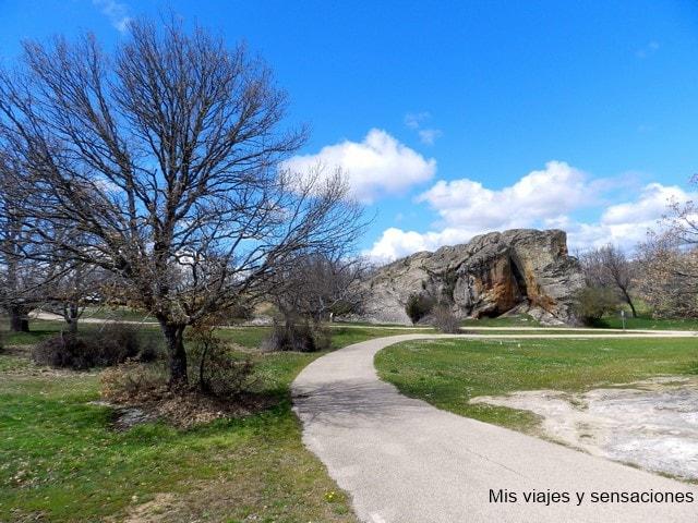 Paraje natural del Monte Valonsadero, pinturas rupestres, Soria
