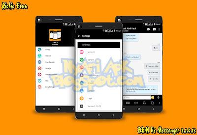 Download BBM Mod Blackberry V8 Versi 3.1.0.13 Apk Terbaru