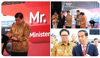 Menperin Menerima Kunjungan Presdir AT Kearney Indonesia