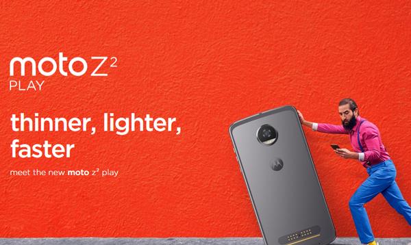 Presentan el nuevo Smartphone Moto Z2 Play