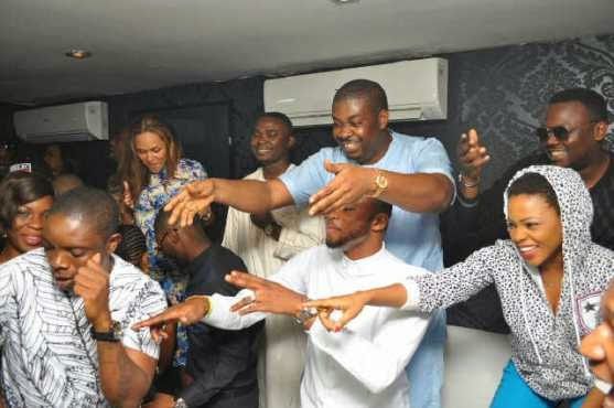 aa Don Jazzy, Tiwa Savage, others @ The Place for #MTNCelebDouble rave