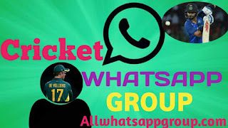 Cricket whatsapp Group