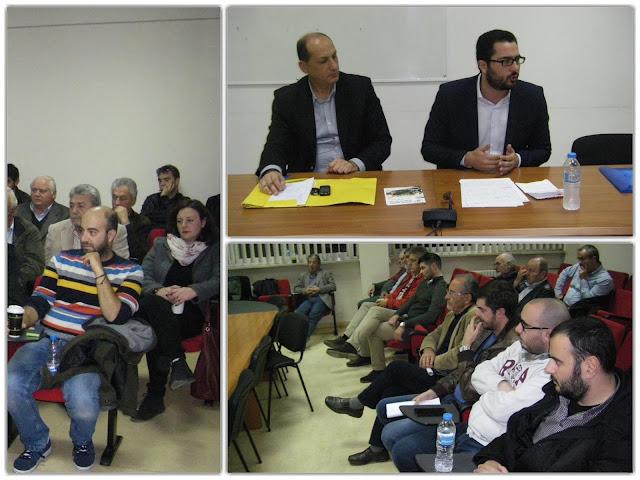 Σε μέλη και φίλους του ΠΑΣΟΚ στα Γιάννενα μίλησε ο Ανδρέας Σπυρόπουλος