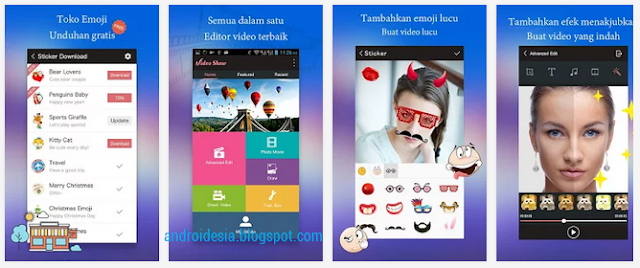 VideoShow - Aplikasi Edit Video Android terbaik 2015