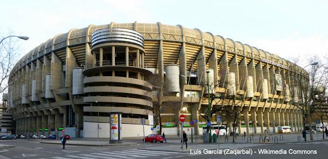 Madri, Espanha, Estadio Santiago Bernabeu, Rela Madri