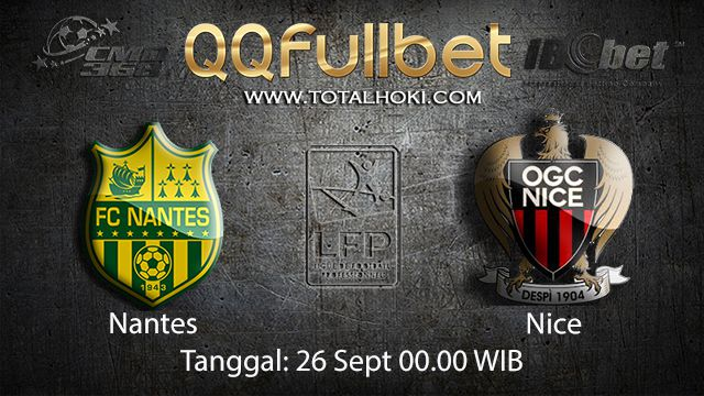 Prediksi Bola Jitu Nantes vs Nice 26 September 2018 ( French Ligue 1 )