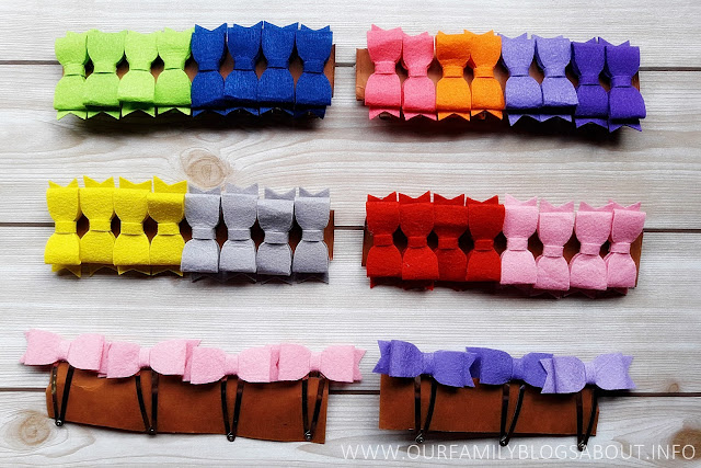 craft, do it yourself, felt cloth, felt cloth bows, felt cloth headbands, Felt with love by Mom Maye, Headbands,