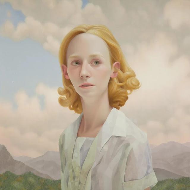 Lu Cong arte inspirador, ojos miradas expresivas, retrato mujer joven, imagenes chidas