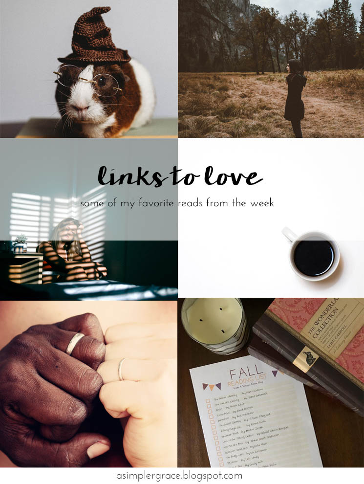 I'm sharing my favorite reads from the week on the blog today!  #linkstolove #fridayfavorites
