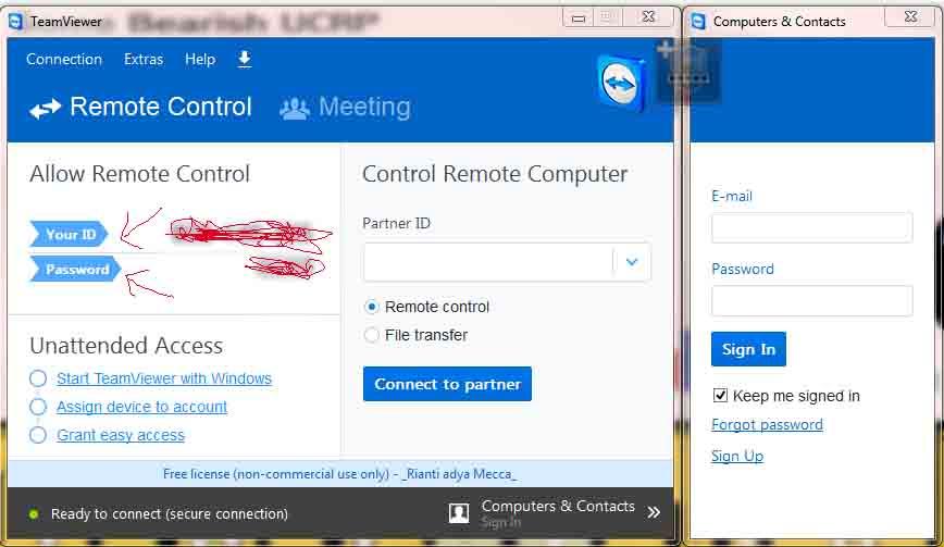 Cara remote pc,cara mudah remote dekstop pc laptop