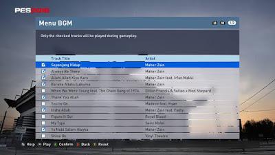 Lagu Terbaru PES 2016 versi Maher Zein