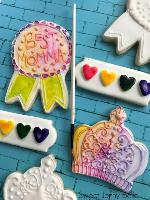 paint your own mothers day cookies