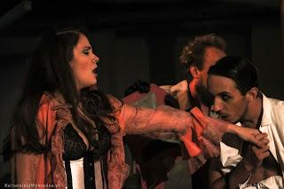 Agnieszka Rose Krzysztof Broda-Żurawski Nogi Syreny Teatr Syrena