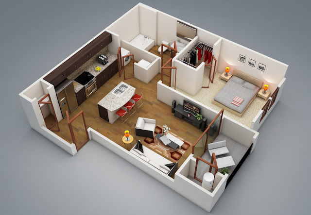 1 Bedroom Houses For Rent Near Me