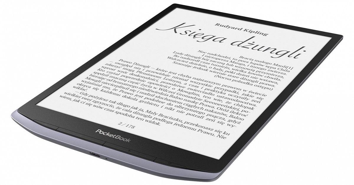 PocketBook InkPad X - nowy czytnik z ekranem 10,3 cala