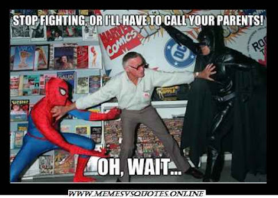 WTF spiderman vs batman