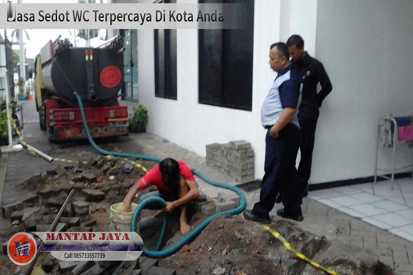 Jasa layanan Sedot Tinja untuk kawasan Surabaya utara daerah Perak Timur