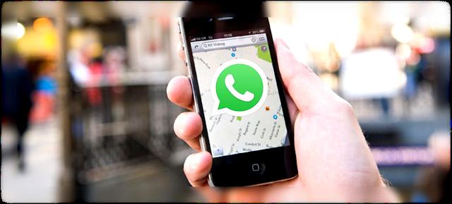Cara Mengetahui Lokasi teman kita melalui aplikasi WhatsApp