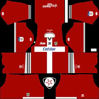 SSD Parma Calcio 2018 - 2019 GK Home Kit