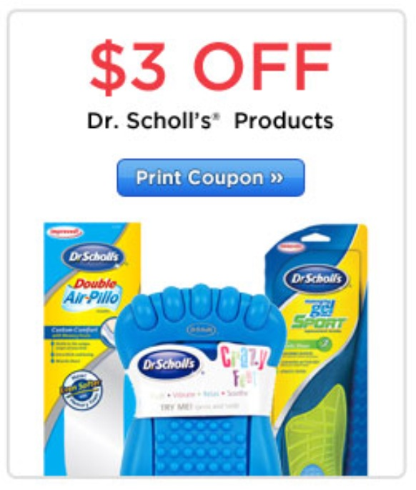 picture regarding Dr Scholls Coupons Printable named Ceremony Help: Dr. Scholls Coupon - Drugstore Divas