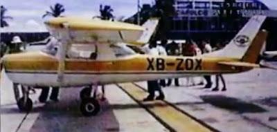 Avioneta de Rafael Pacheco