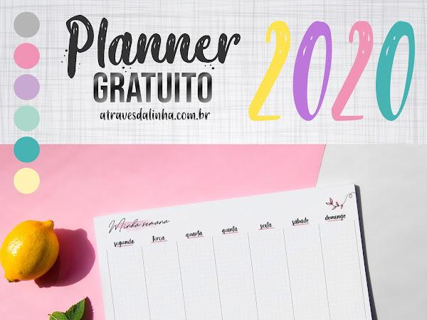 Planner 2020: Semanal de Mesa gratuito para download