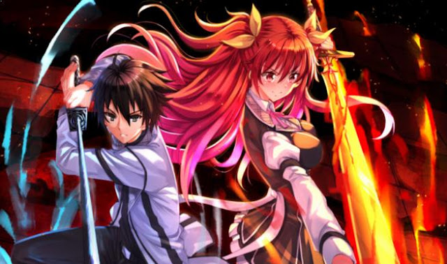 Anime Magic School Romance Terbaik - Rakudai Kishi no Cavalry