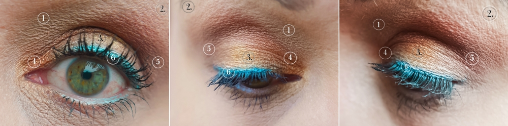 Eye MakeUp - Closeup and Details Legend