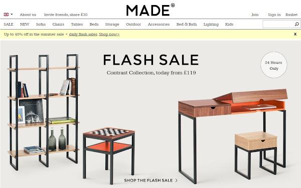 Made com website