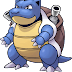 Pokemon coloring pages - Blastoise