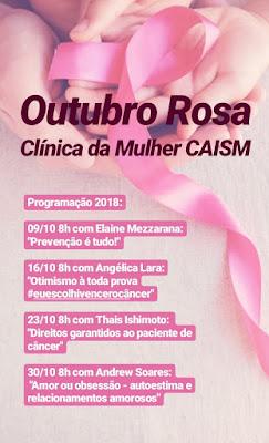 Clínica da mulher de Miracatu realiza campanha do outubro rosa com programação especial