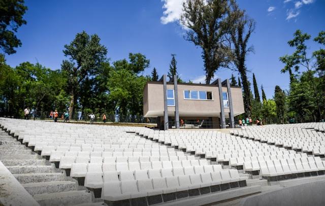 The Amphitheater at Tirana Lake soon ready for the public