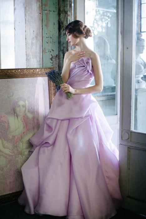Vestido de novia de colores