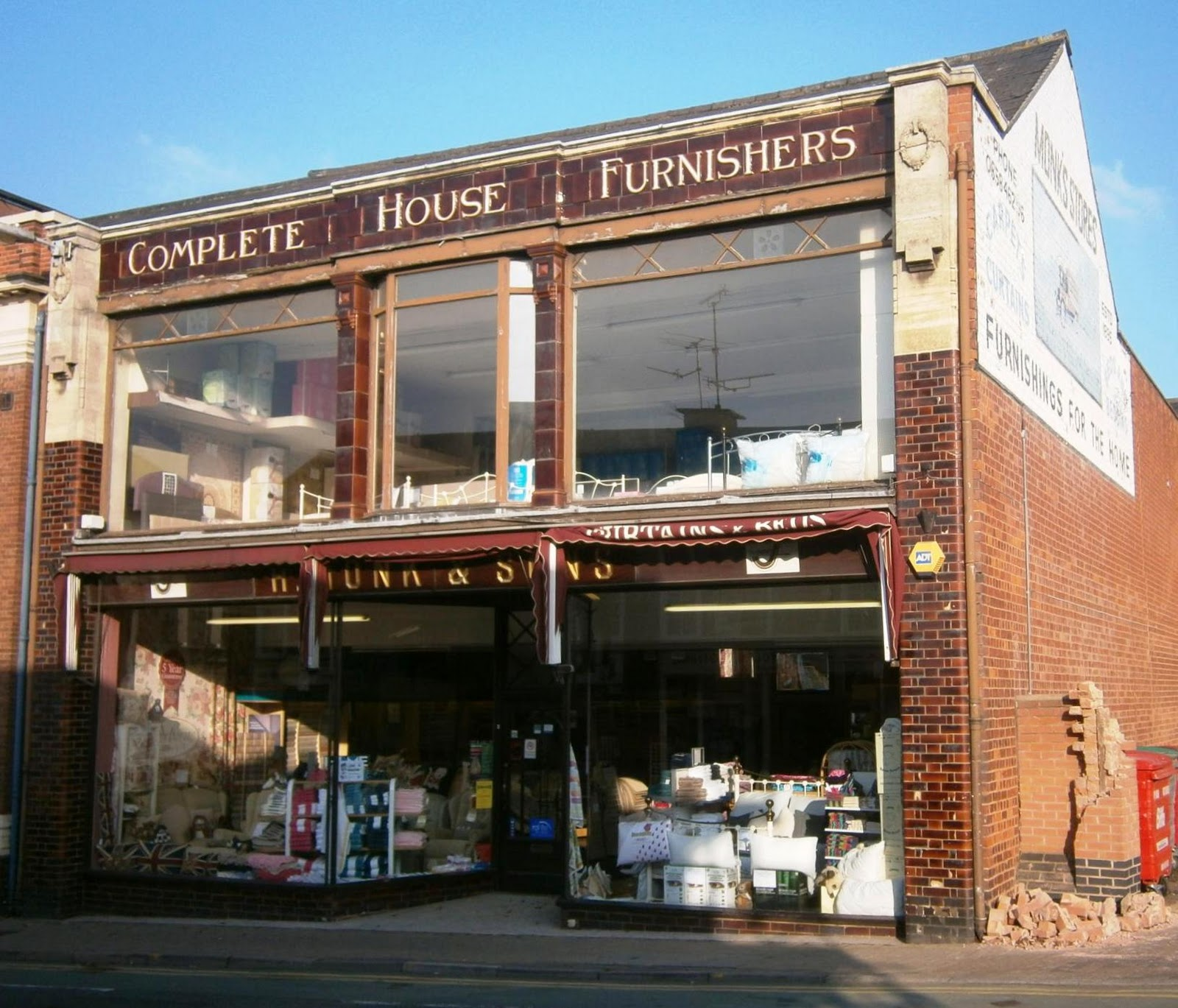 Liberal England: Monk's Furniture Shop, Market Harborough