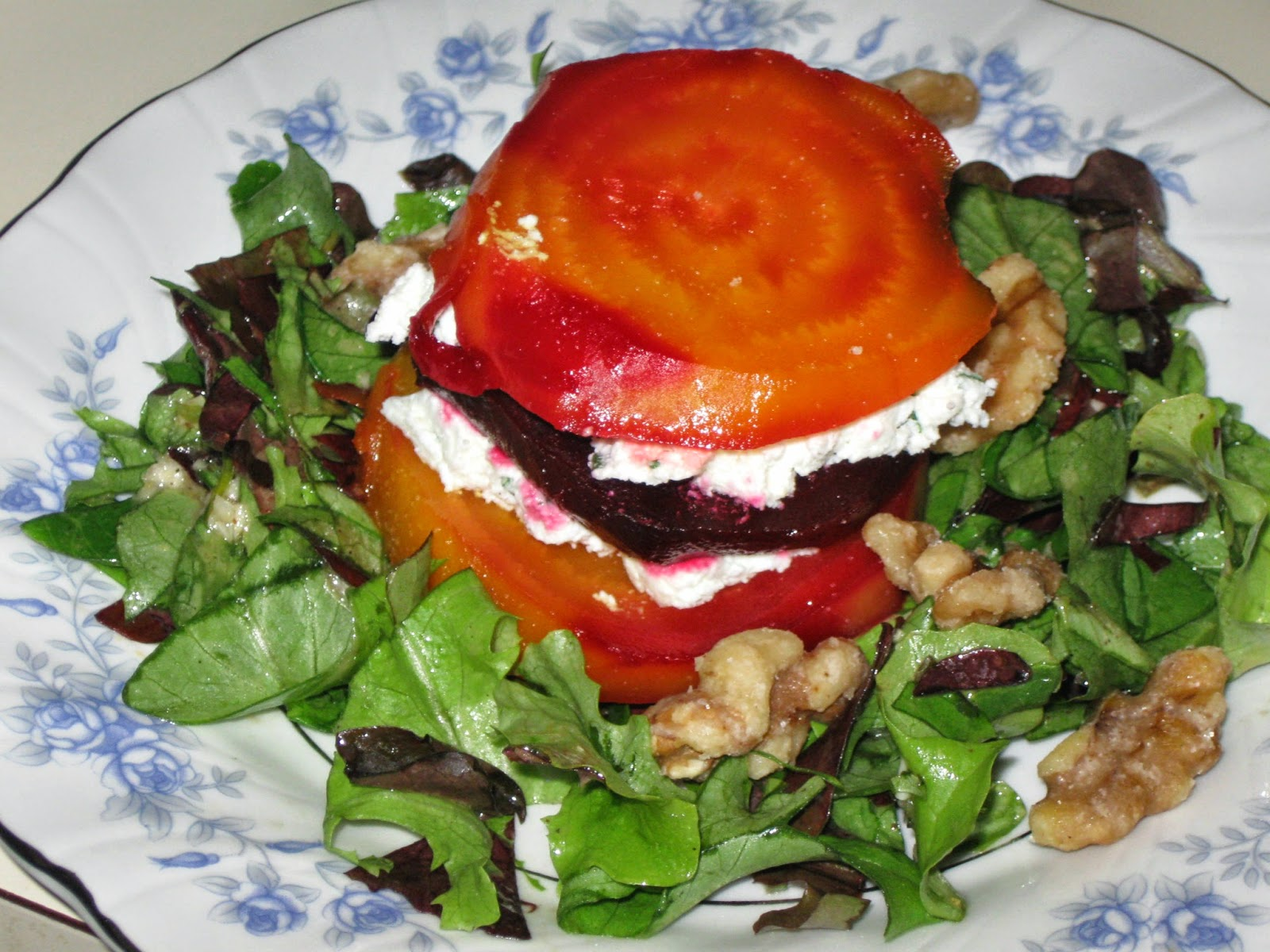 Roasted Beet Napoleon