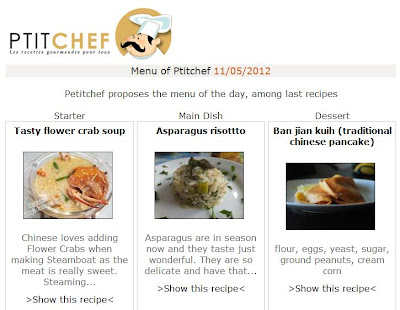 ptitchef flower crab soup recipe