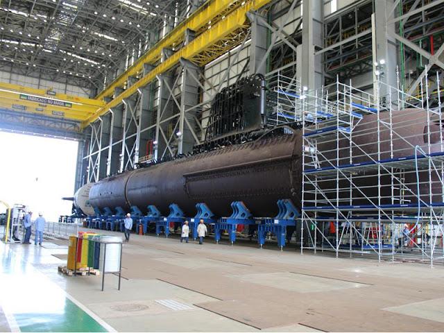 Primer submarino convencional listo para la fase de integración