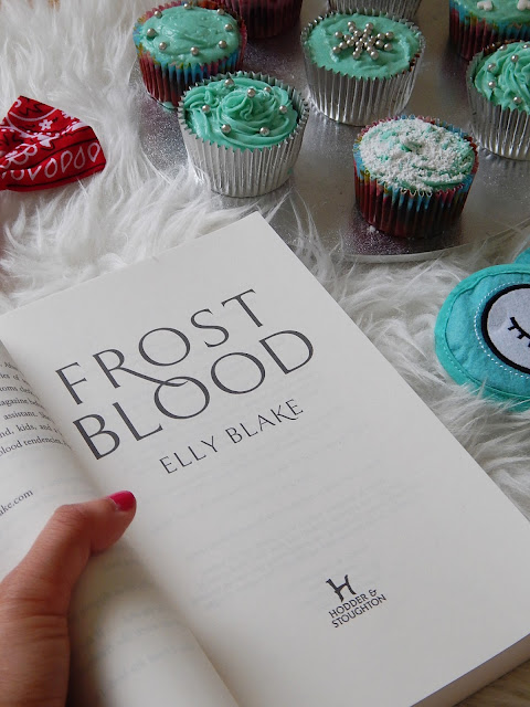 Frostblood no spoiler book review | sprinkledpages