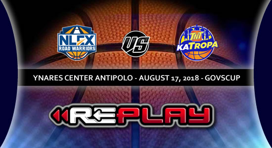 Video Playlist: NLEX Road Warriors vs TNT Katropa game replay 2018 PBA Governors' Cup
