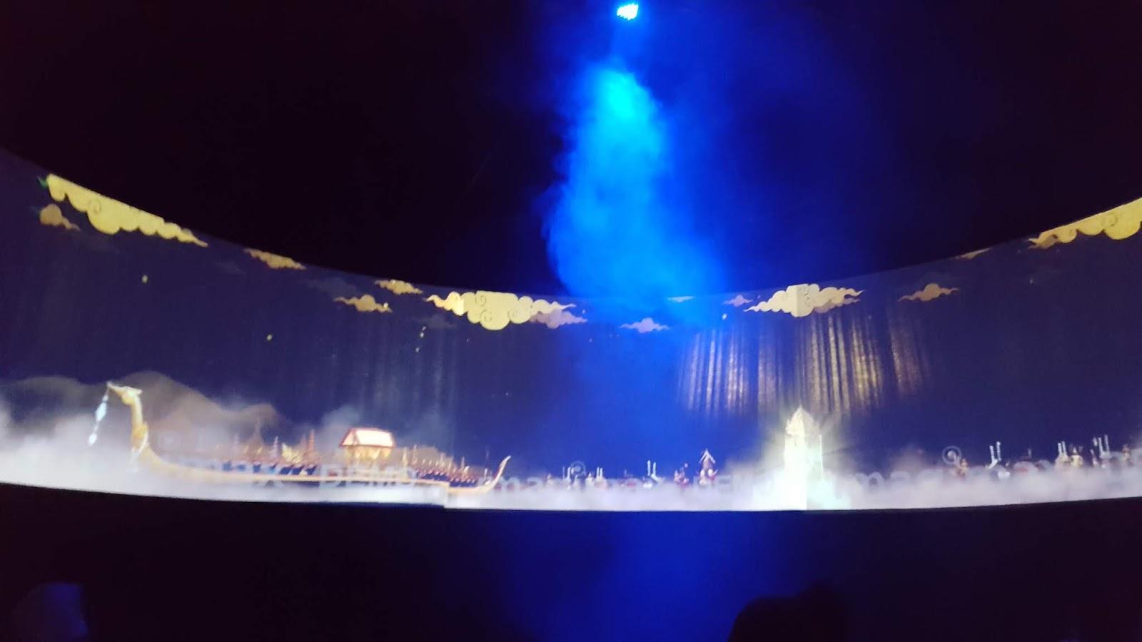 泰國博物館4D水幕秀