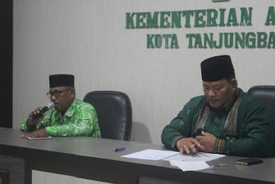 Kemenag Tanjungbalai Gelar Rapat Final Pembentukan Panita HAB