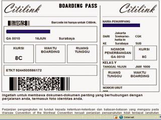 Cara Dapat Diskon Liburan Dengan Boarding Pass Citilink Tips