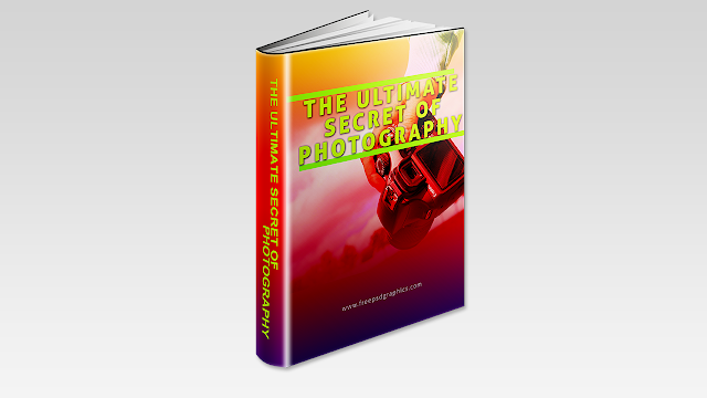 Download FREE PSD Ebook Cover Template Design