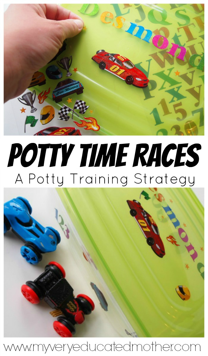 When it's time to start potty training you gotta be willing to look outside the box, here's one strategy that's working for me! #PottyTrainTogether ad #collectivebias