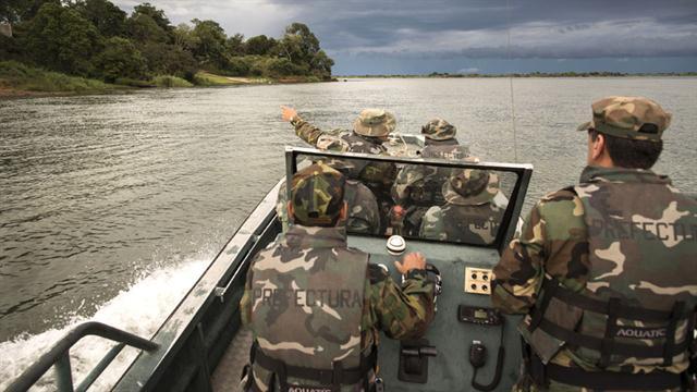 Resultado de imagen para Prefectura Naval detubo a integrantes de la banda del Gordo Saucedo
