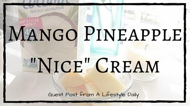 "Mango Pineapple ""Nice"" Cream"