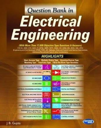 [PDF] Electrical Engineering Objective by J B Gupta Free Download